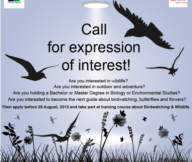 Call for expression of interest!