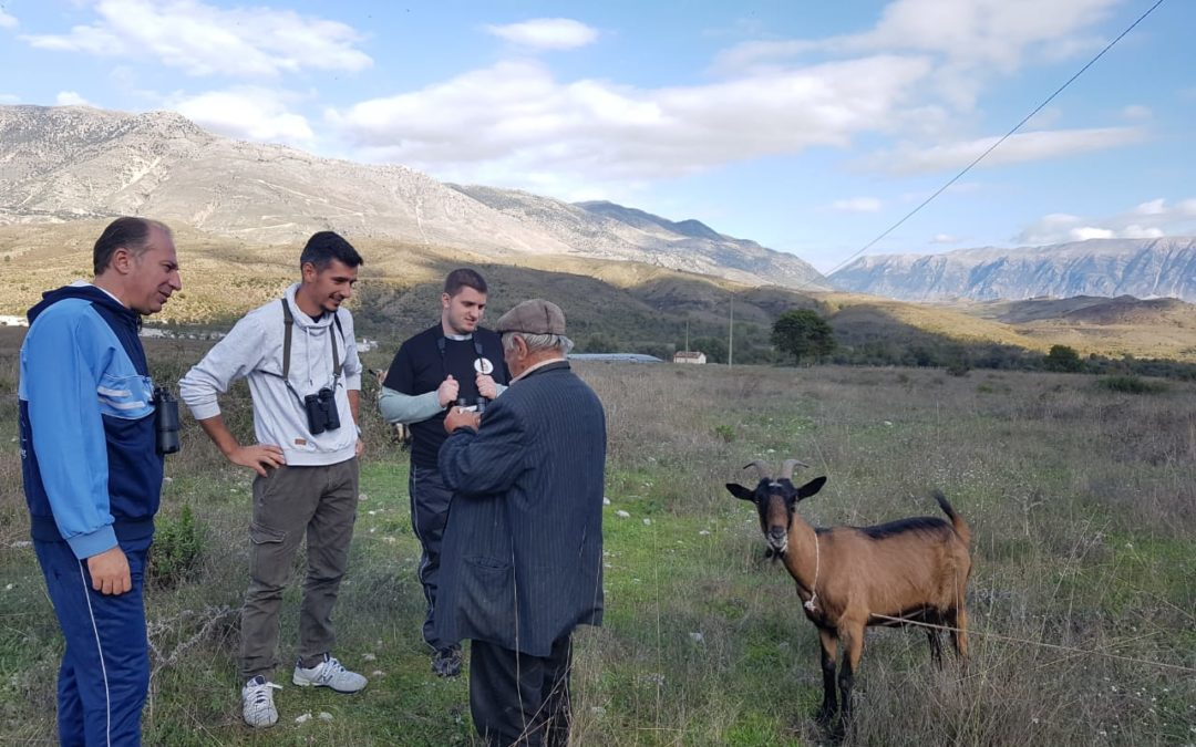 Inspection on Wildlife Poisoning in Albania.