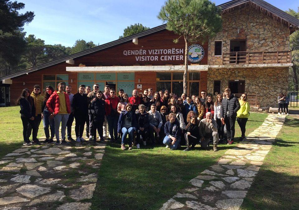 Asim Zeneli High School visited Divjaka-Karavasta National Park