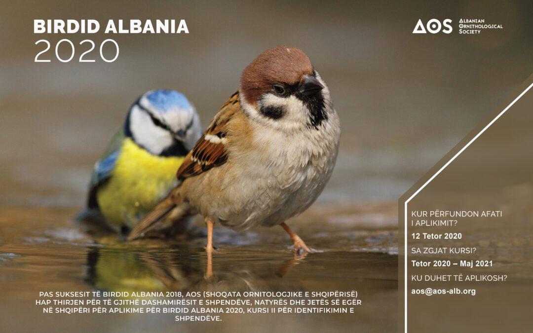 BirdID Albania 2020