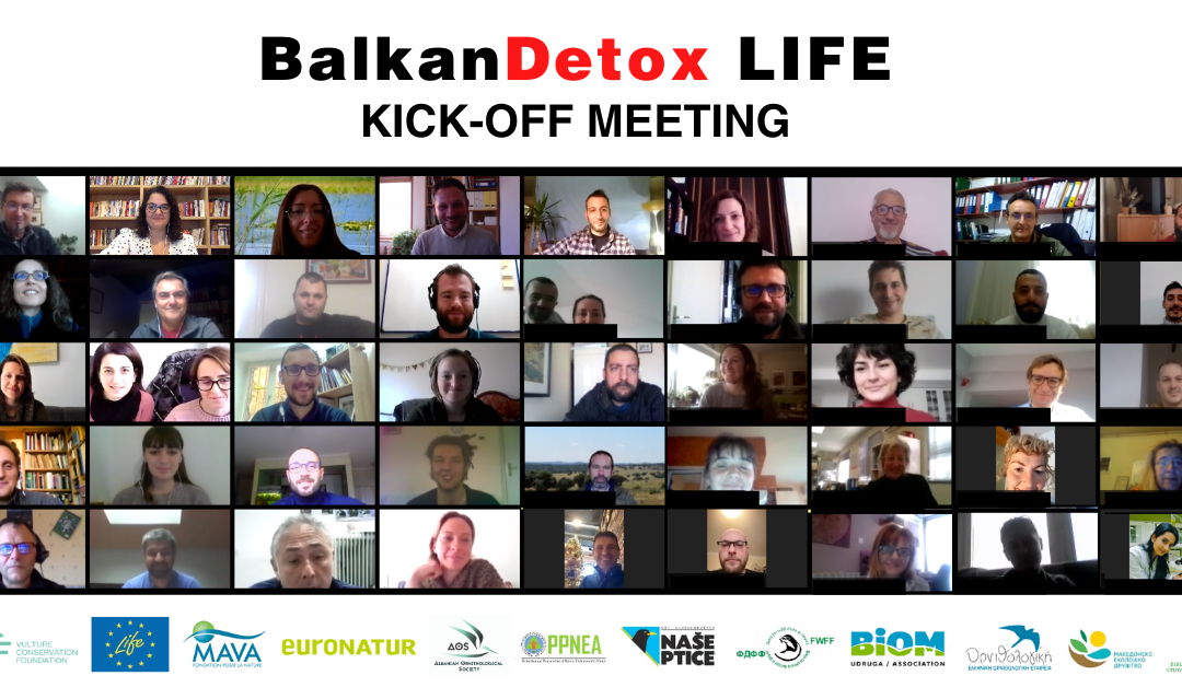 A successful Kick-off Meeting of the newly launched LIFE project BalkanDetox LIFE