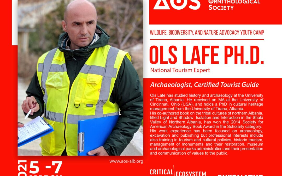 Ols Lafe, trainer on the Wildlife, Biodiversity, and Nature Advocacy Youth Camp