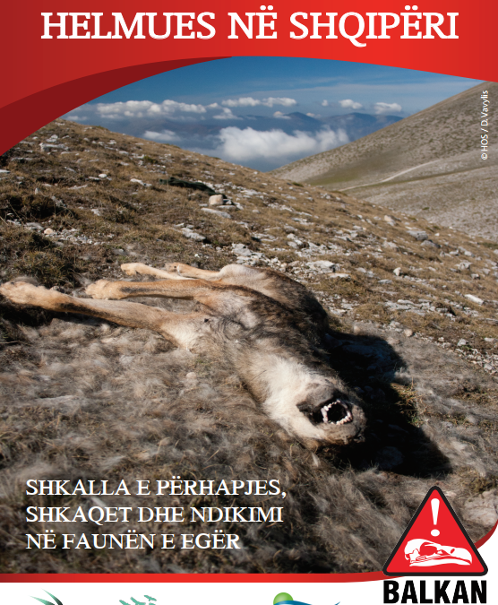 BOOKLET ON THE USE OF POISON BAITS AGAINST WILDLIFE IN ALBANIA